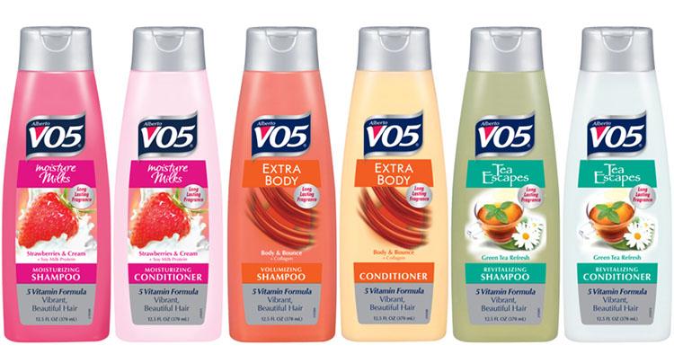vo5 shampoo types