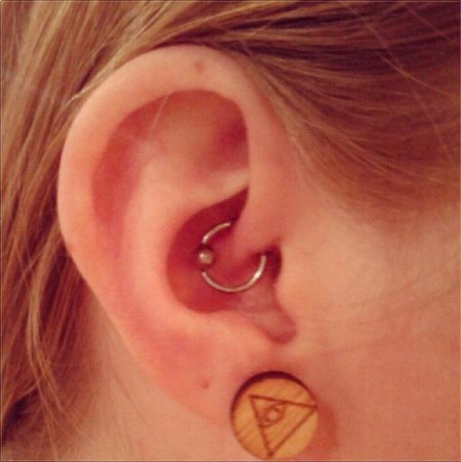 Daith Piercing Ring