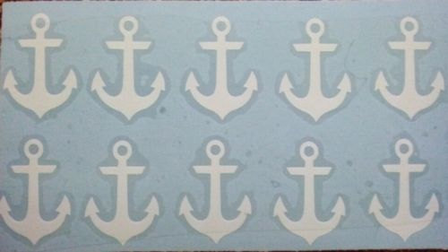 anchor tanning stickers