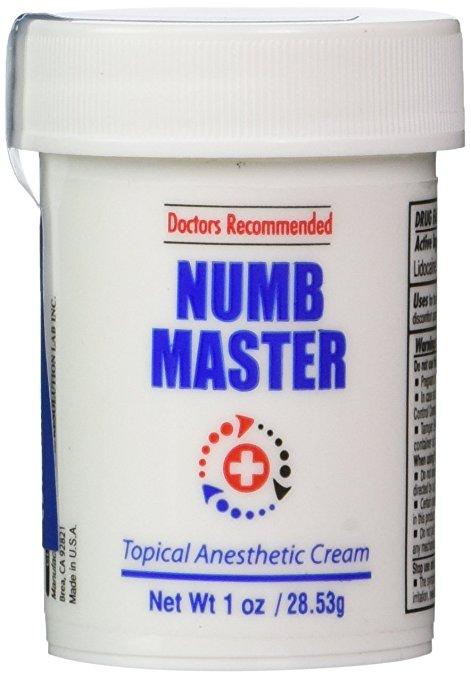 numbing cream for piercings