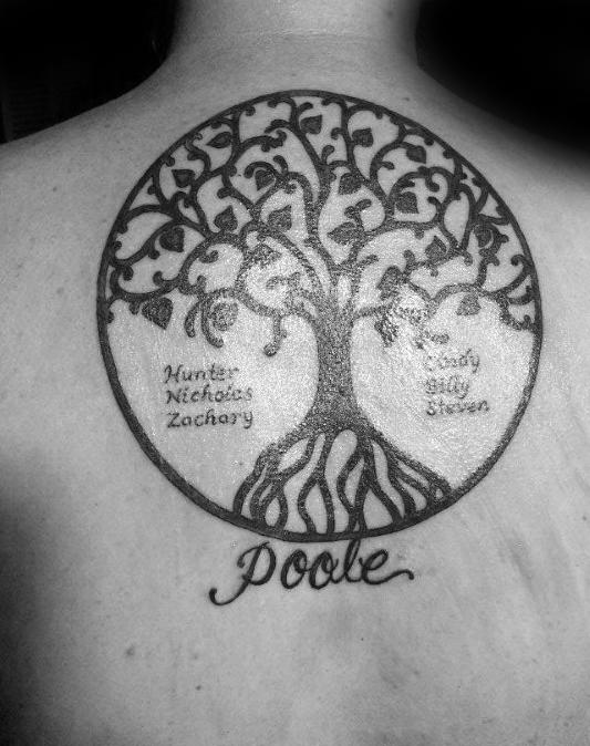 The Best Family Tree Tattoo Design Ideas Of 2018 Beauty Logic Blog