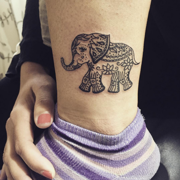 Elephant Tattoo Meaning Design Variations And Placement Ideas