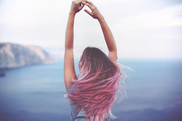 Hair With Adore Hair Dye