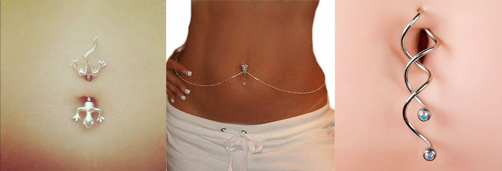 unique belly button rings
