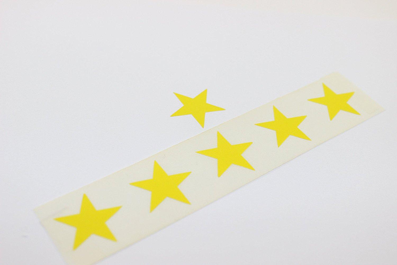 Star tanning sticker