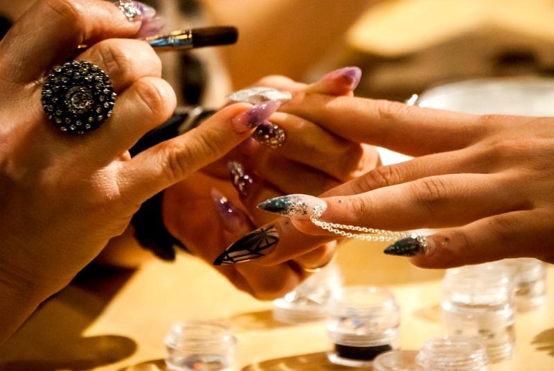 gel x manicure