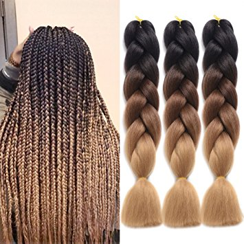 Ding Dian Synthetic Hair Braiding Extensions