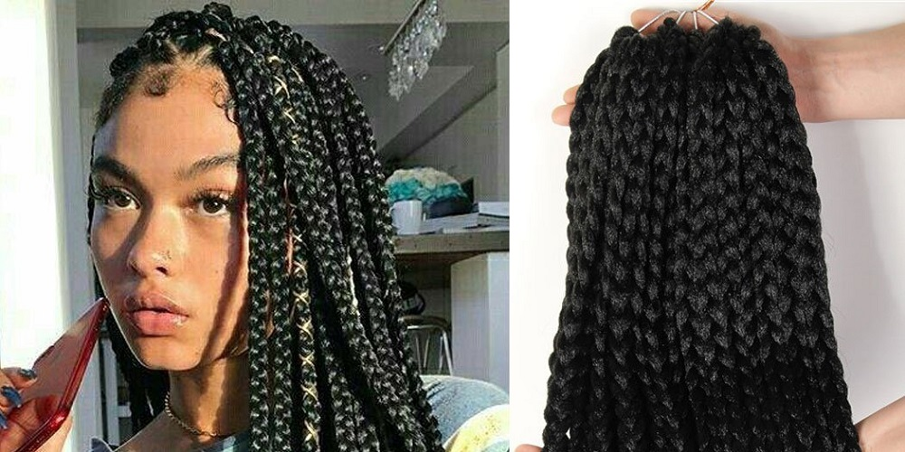 Hairstyles For Girls Black Box Braids 60