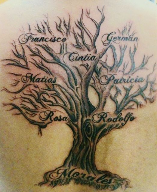 The Best Family Tree Tattoo Design Ideas Of 2018