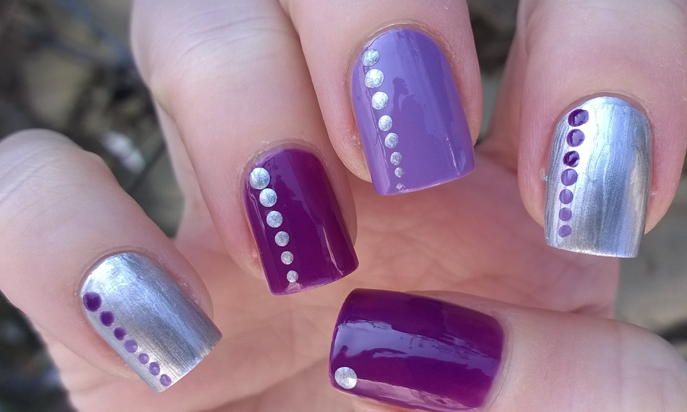 Art Ideas For Purple Nail Designs Beauty Logic Blog