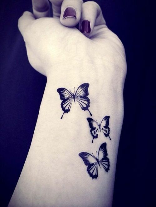 Butterfly Tattoo On Wrist Meaning And Placement Ideas Beauty Logic
