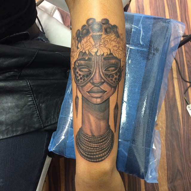 a6f186feb9aaa African Queen Tattoo Designs | Beauty Logic Blog